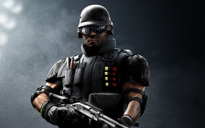 Picture game, soldier, Rainbow Six, SWAT, Castle, shotgun, FBI, Tom Clancy's Rainbow Six Siege, Rainbow Six …