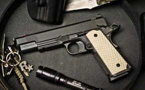 Picture gun, 1911, Nighthawk, Custom