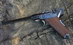 Picture Luger Pistol, 9 mm, The German Empire