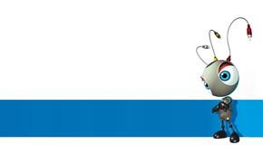 Picture rendering, ant, antennae, children's., tingling, Heri Irawan