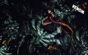 Picture Language, Teeth, Comic, Claws, Marvel, Comics, Venom, Venom, Symbiote, Marvel, Comics, Eddie Brock, Symbiote, Teeth, …