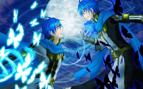 Picture look, art, guys, Vocaloid