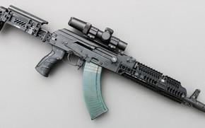 Picture weapons, tuning, machine, weapon, custom, custom, Kalashnikov, AKM, Russian, AKM, assault rifle, assault Rifle