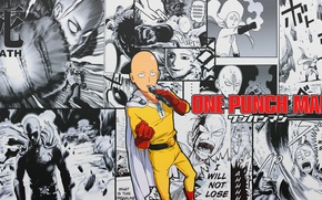 Picture anime, anime Wallpapers, One-Punch Man, Saitama