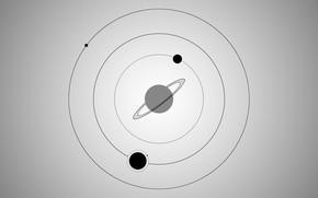 Wallpaper space, black, galaxy, gray, circle