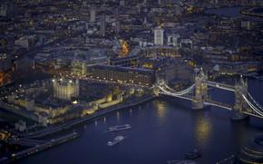 Wallpaper the city, night, London