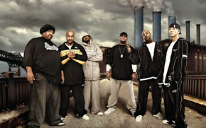 Picture Swift, Eminem, Rap, Hip-Hop, Bizarre, Shady Records, Kon Artis, Dirty Dozen, d12, Kuniva, Proof