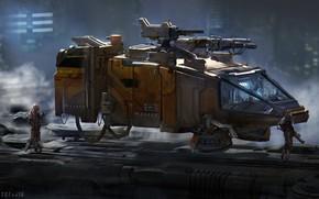 Picture transport, Guardians, guardiansartstation