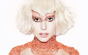 Picture blonde, celebrity, Lady Gaga, shocking