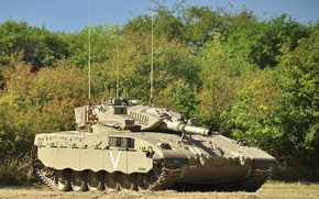Wallpaper tank, combat, Merkava, Israel
