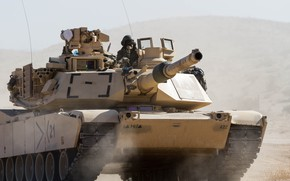 Picture tank, USA, M1 Abrams, main battle
