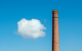 Wallpaper the sky, cloud, pipe