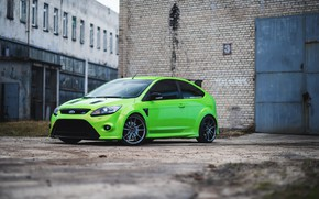 Picture Ford, Focus, Green
