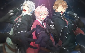 Picture guys, trio, IDOLiSH7, singers