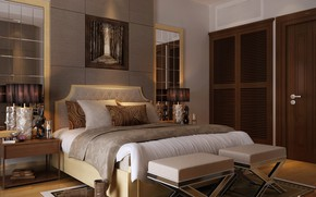 Picture room, bed, boots, BEDROOM, RESIDENTIAL VILLA