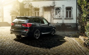 Picture rear view, 2018, crossover, AC Schnitzer, BMW X3, ACS3