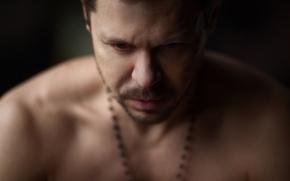 Picture portrait, actor, Pavel Derevyanko