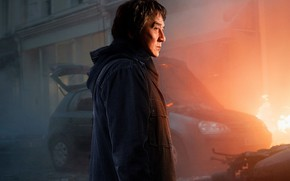 Picture car, cinema, fire, flame, man, movie, asian, film, chinese, oriental, asiatic, Jackie Chan, spark, The …
