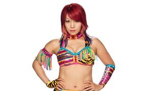 Picture look, pose, Asuka, wrestler, WWE, Raw, Asuka