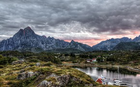 Norway, Kabelvag, Vyacheslav Derenko, Norway