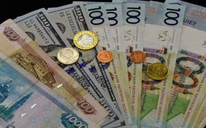 Picture money, currency, bills
