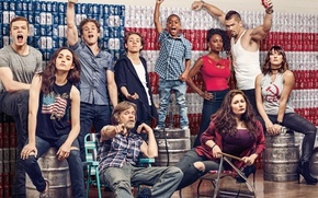 Wallpaper poster, Emmy Rossum, Shameless, Jeremy Allen White, Emma Kenney, William H. Macy, Cameron Monaghan, Ethan ...