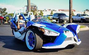 Picture beautiful, comfort, hi-tech, Polaris, Slingshot, technology, sporty, tricycle, 006