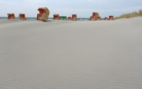 Picture sand, sea, beach, booth