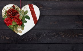 Picture flower, background, rose, Texture, heart