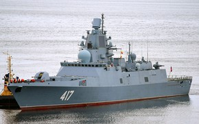 Picture frigate, Navy, Admiral of the fleet of the Soviet Union Gorshkov