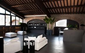 Picture interior, villa, luxury, living space