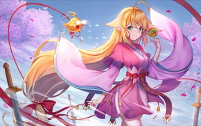 Picture look, girl, anime, art, Fox Spirit Matchmaker