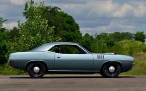 Picture 1971, Classic, Muscle car, Plymouth Hemi CUDA