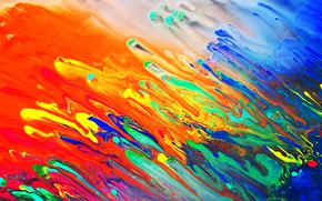 Picture colors, colorful, abstract, liquid, Psychedelic, trippy, trippy art