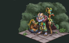 Picture fantasy, the game, MAG, staff, Seryoga Biryukov, MOBA games, Rat Shaman