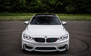 Picture BMW, Beautiful, Front, White, F80