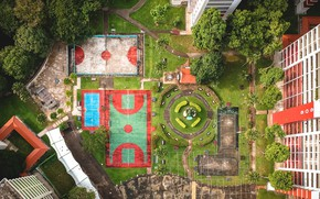 Picture Home, Height, Yard, Playground