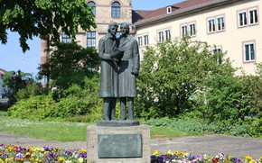 Picture The Brothers Grimm, Monument, Kassel