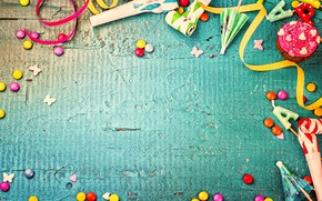 Picture decoration, candy, sweets, Happy Birthday, decoration, Birthday, holiday celebration