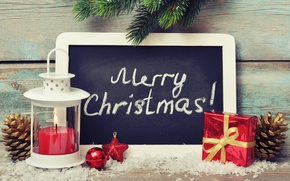 Picture New Year, Christmas, snow, merry christmas, decoration, christmas tree, gifts