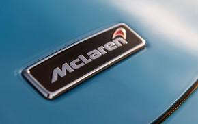 Picture McLaren, supercar, emblem, logo, 2018, Spider, 570S