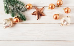 Picture decoration, balls, tree, New Year, Christmas, happy, Christmas, wood, New Year, Merry Christmas, Xmas, decoration