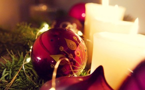 Picture macro, holiday, toy, new year, candles