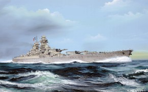 Picture France, battleship, Richelieu, battleship of the French Navy
