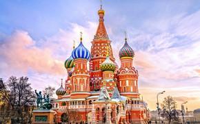 Wallpaper Church, the sky, Russia