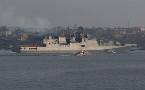 Picture ship, frigate, guard, Admiral Grigorovich, the project 11356