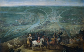 Picture picture, The Siege Of Reinberg By The French, Lambert de Hondt II