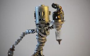 Picture macro, metal, wire, figure