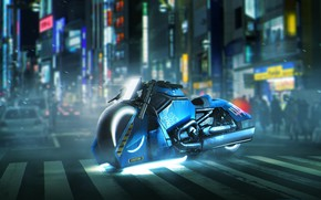 Wallpaper cinema, film, Harley Davidson V Rod Muscle, motorbike, Blade Runner 2049, movie, Harley Davidson, Blade ...