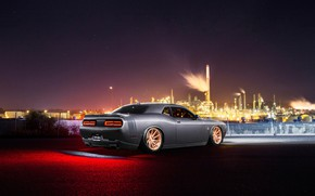 Picture Dodge, Challenger, Car, Rear, Avant Garde Wheels